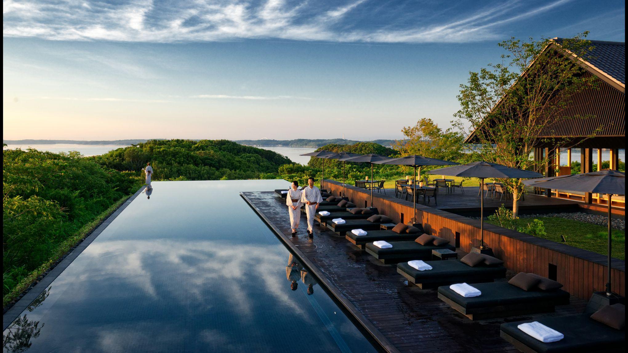 Les meilleurs hôtels de luxe au japon